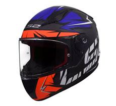 LS2 FF353 Rapid Chromo Full Face Helmet