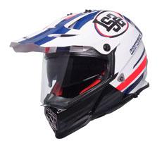 LS2 MX436 Pioneer Quarterback Motard Helmet