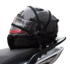 Motorbike Luggage Net Helmet Holder