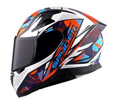 Spyder Full-face Helmet with Dual Visor Recon 2.0 GD S6 (FREE Clear Visor)