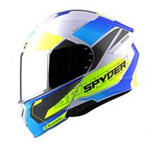 Spyder Modular Helmet with Dual Visor FORCE GD Series 1 (FREE CLEAR VISOR)