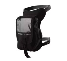 Spyder Motorcycle and Outdoor Leg Bag AC (Black) - Large