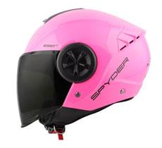 Spyder Open-face Helmet Reboot 2 P Series 0 (FREE CLEAR VISOR)