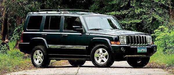 TopGear.com.ph Philippines Car Review - 2008 Jeep Commander