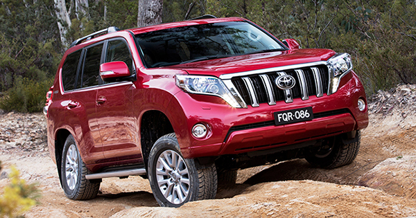Toyota Land Cruiser Prado Top Gear Philippines