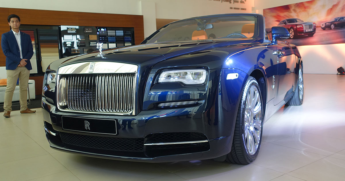 rolls royce dawn | top gear philippines