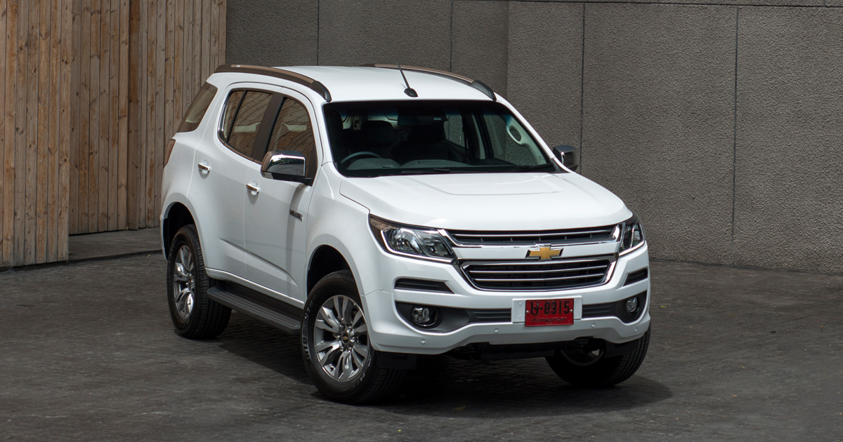 218a5077c73 Chevrolet launches the refreshed Trailblazer in Thailand. With a new  engine. It has been ...