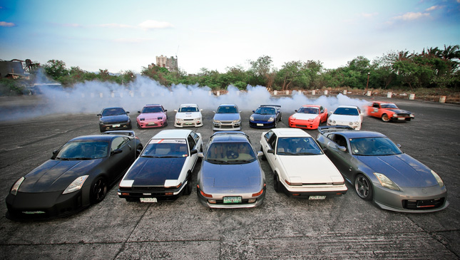 The 13 types of people you meet in a car club