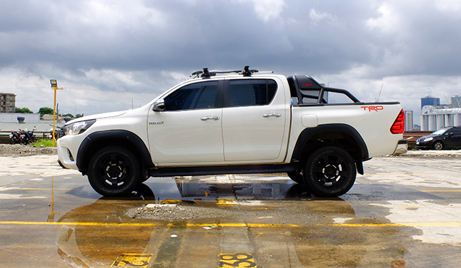 7 Reasons Why The Trd Packed Hilux Will Make You Feel Like