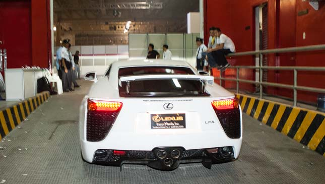 Taking care of the Lexus LFA