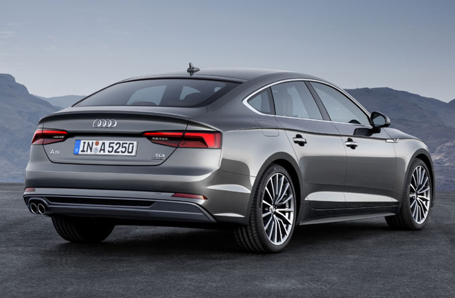Audi A5 and S5 Sportback