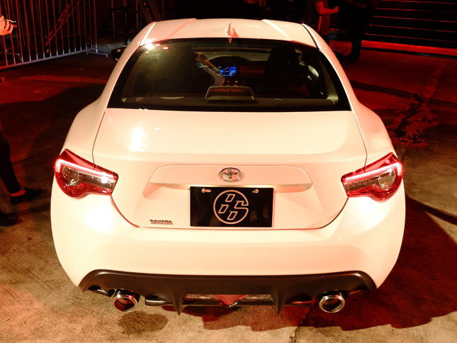 Refreshed Toyota 86