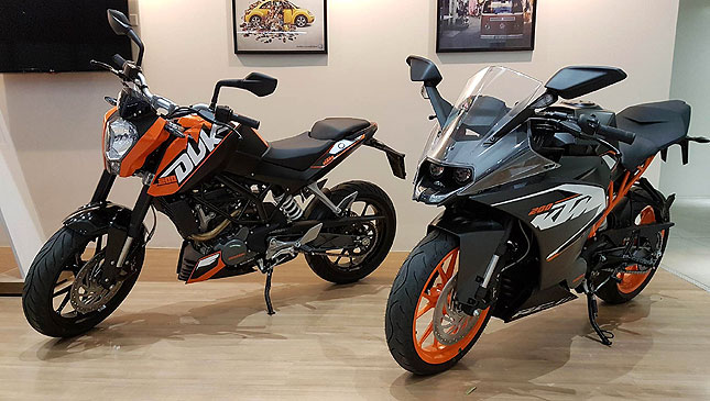 KTM dealership