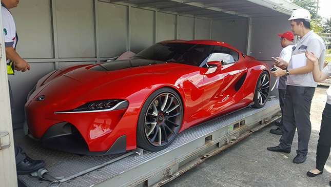 Toyota FT 1 Concept Car