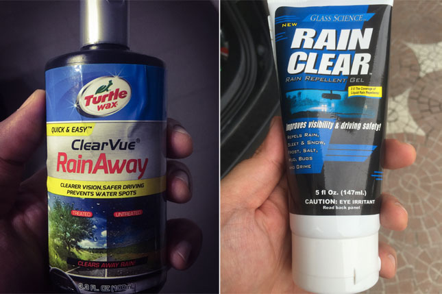 Various ways to prep your windshield for wet-weather driving
