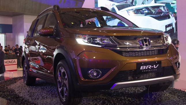 PIMS The BRV Takes Center Stage At The Honda Booth Car News - Honda center car show