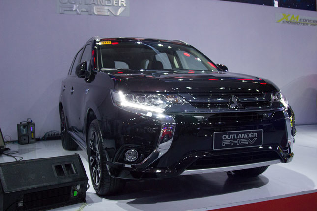 Mitsubishi Philippines' booth at PIMS 2016