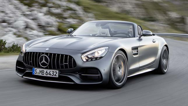 Mercedes-AMG GT and GT C Roadster