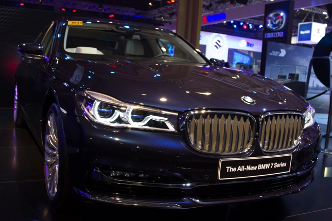BMW display at PIMS 2016