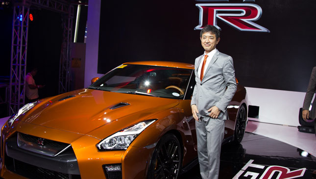 Nissan GT-R product specialist Hiroshi Tamura