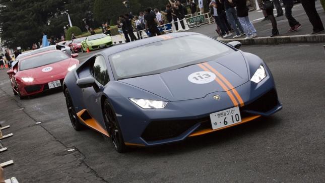 Lamborghini in Tokyo