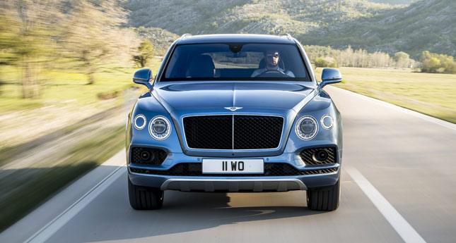 Bentley Bentayga diesel SUV