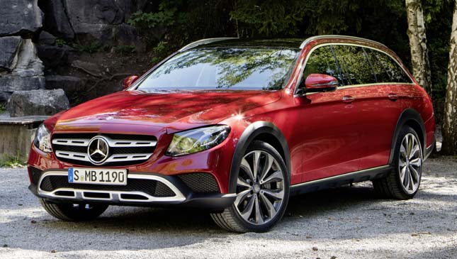 All-terrain Mercedes-Benz E-Class
