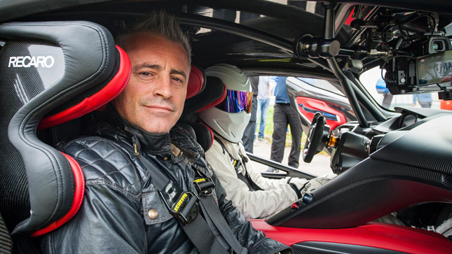 Matt LeBlanc returns as 'Top Gear' host