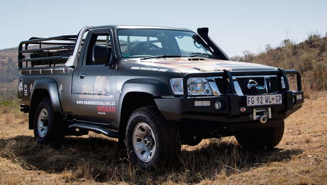 Modified Nissan Patrol 4x4
