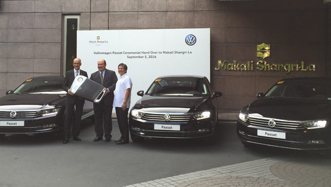 Volkswagen provides all-German fleet for Makati Shangri-La