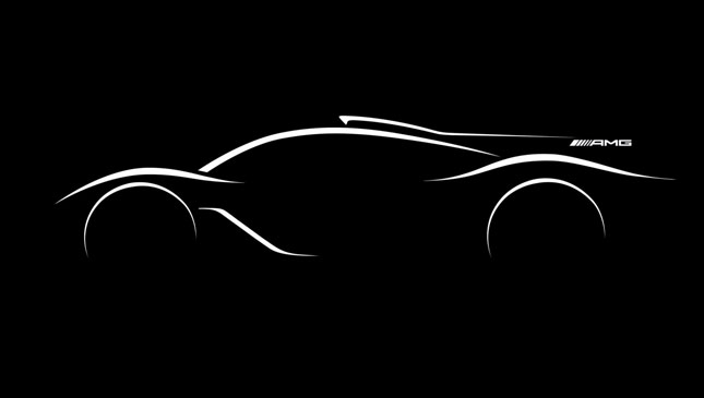 Mercedes-AMG reveals first sketch of F1-engined hypercar