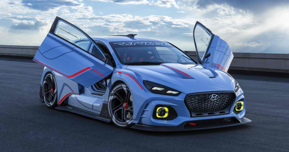 12 images: Hyundai has revealed its jaw-dropping RN30 concept