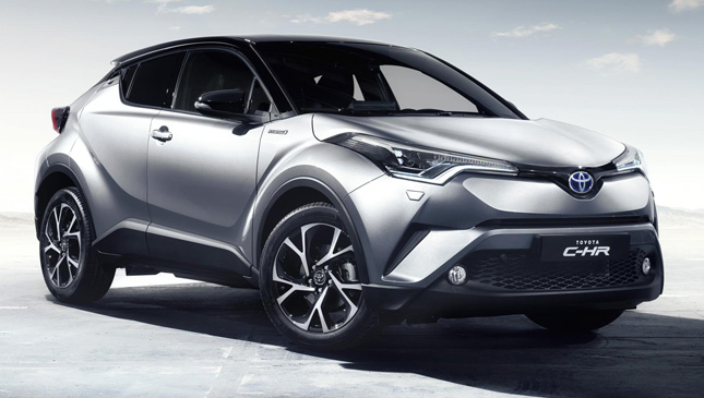 Toyota C-HR production car