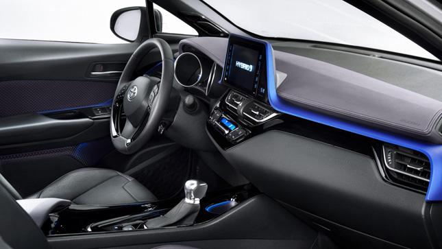 Toyota C-HR production car