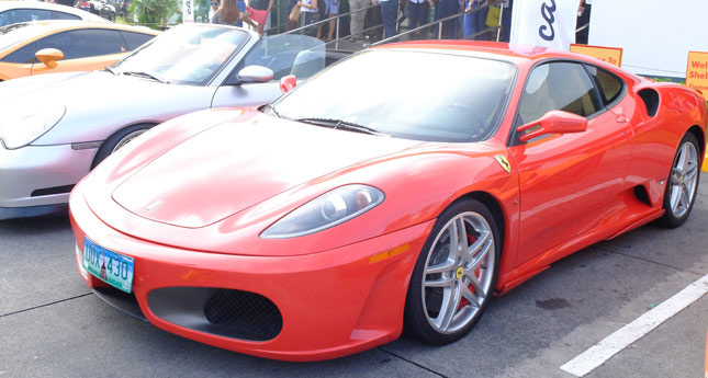 Shell PH mixes coffee with some kick-ass supercars