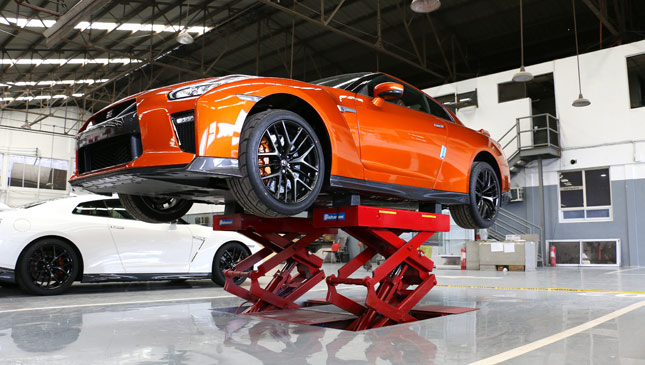 Nissan GT-R service center in the Philippines