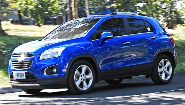 Bewertung Chevrolet Trax Automobil Bildideen