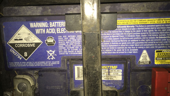Why is my car battery always discharged?