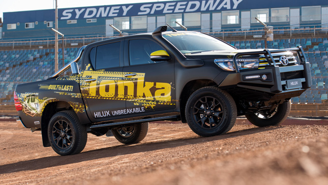 This Tonka Fied Toyota Hilux Is Our Kind Of Toy