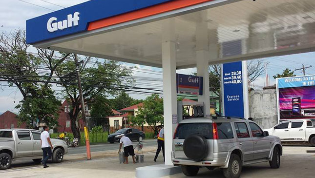 Gulf Gas Station Near Me >> Gulf Oil Opens Its First Fuel Station In Ph