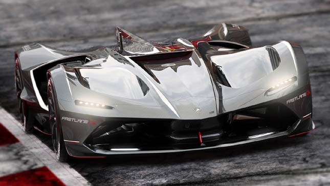We hope the Lamborghini Spectro is the future of AI racing