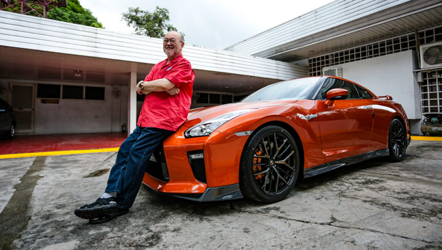 Meet The Tito Who Owns The First Official Nissan Gt R In The Country