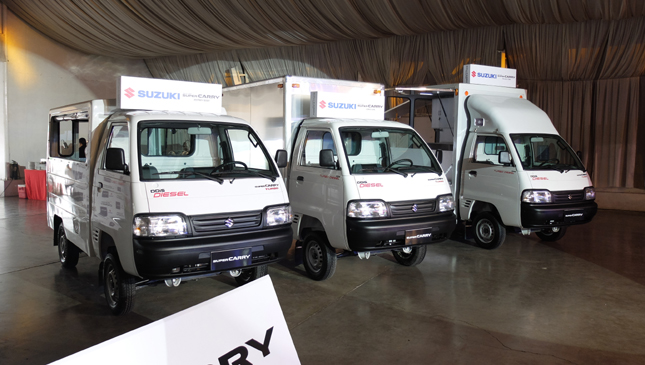 The All New Suzuki Super Carry Is The Utility Knife Of Commercial