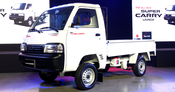 The All New Suzuki Super Carry Is The Utility Knife Of