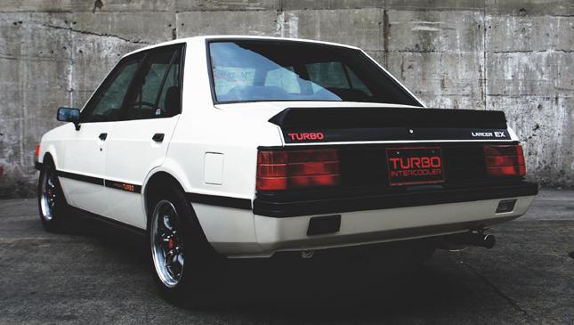 Mitsubishi Box Type A Turbocharged Lancer That Came True