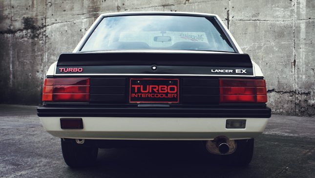 Mitsubishi Box Type A Turbocharged Lancer that Came True