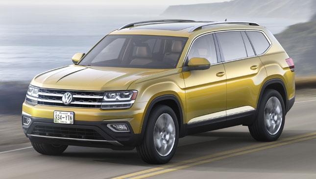 Volkswagen Unveils Seven Seater Atlas Crossover