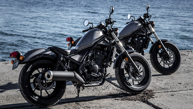 Hondas Upcoming Rebel Motorcycles Are Absolutely Drool Worthy