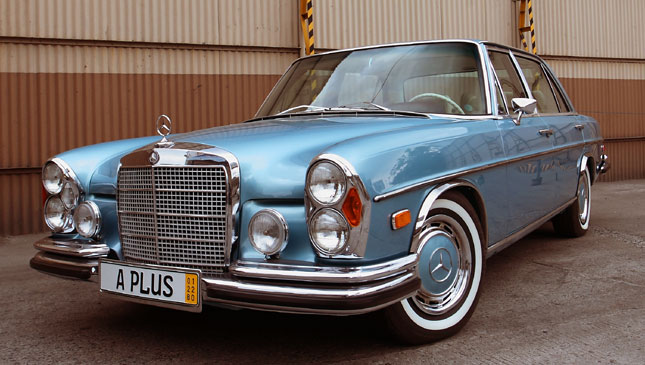Mercedes-Benz W109 300SEL Restored In The Philippines