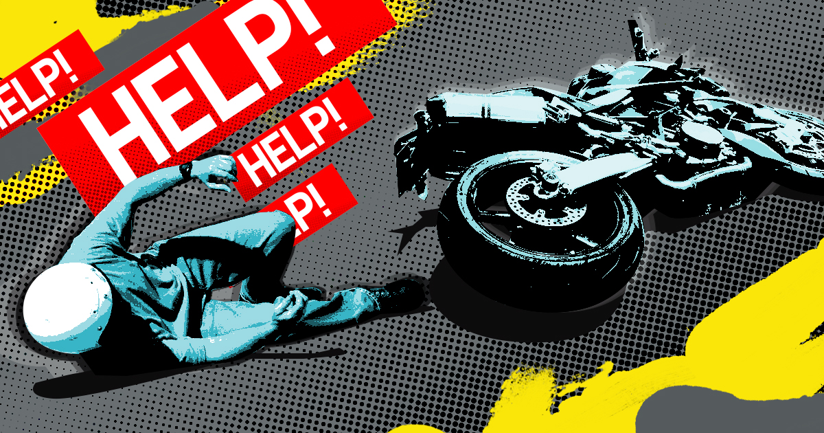A quick guide to helping motorcycle crash victims